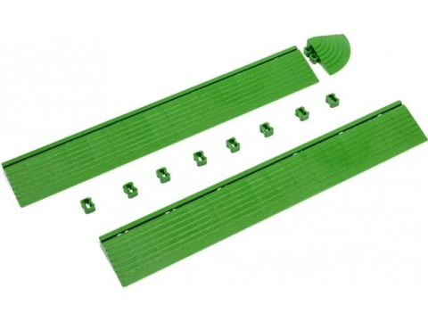 products/Бордюр к садовой плитке Helex зеленый, арт. HL301
