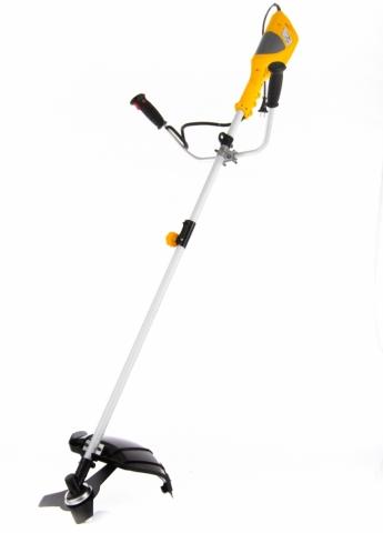products/Триммер электрический Denzel TE-1400, 1400 Вт, 420 мм, катушка + диск, разборная штанга (арт. 96612)
