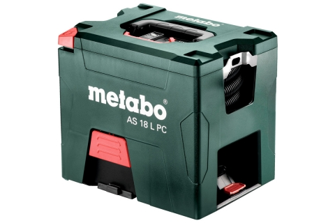 products/Аккумуляторный пылесос Metabo AS 18 L PC 602021000
