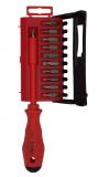 Felo Диэлектрическая отвертка с набором бит 2091206