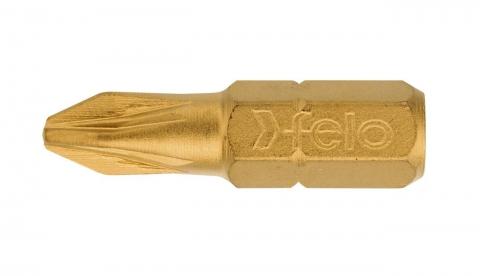 products/Felo Бита крестовая серия TiN PZ 3X25, 10 шт 02103070