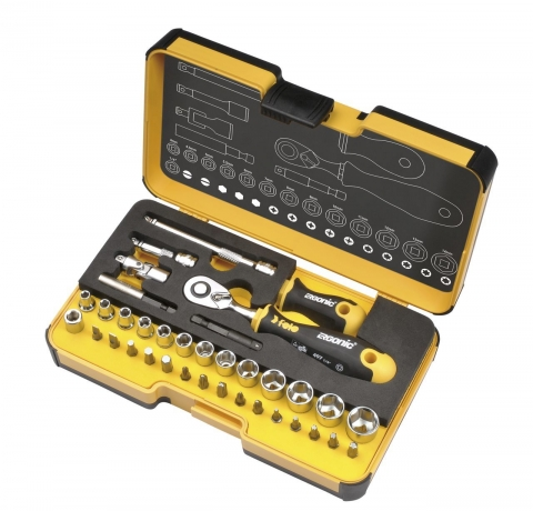 products/Felo Трещетка 72 зуба с набором насадок 28 шт 05783616