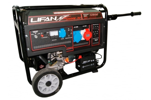 products/Генератор бензиновый LIFAN 10500E-3U (9/10.5 кВт)