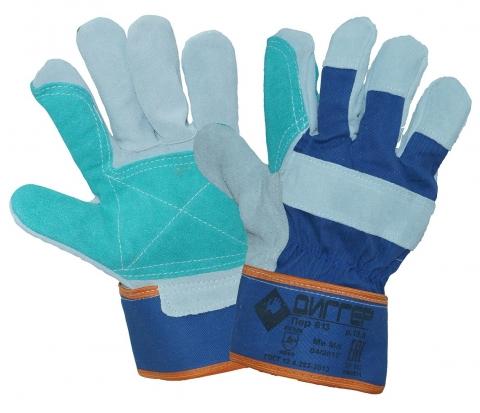 products/Перчатки спилковые комбинированные ДИГГЕР с усилением, ПЕР613, Факел арт. 87473457