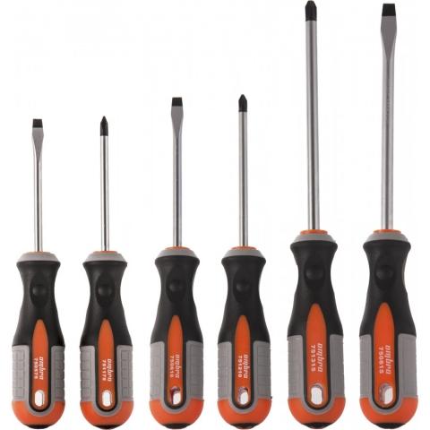 products/975006 Ombra Набор отверток стержневых ROUND GRIP, 6 предметов