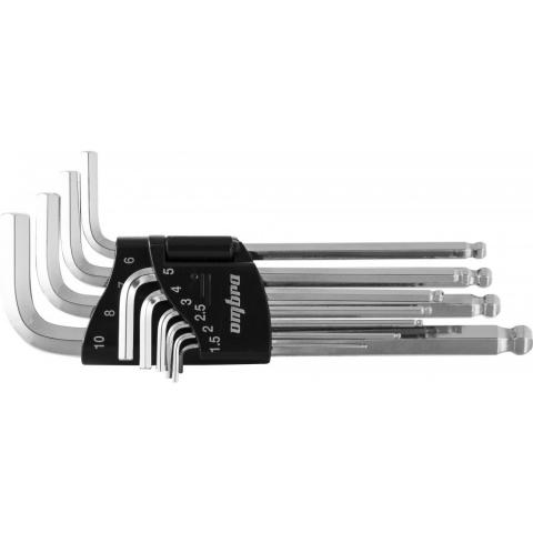 products/952310 Ombra Набор ключей торцевых шестигранных с шаром H1.5-H10, 10 предметов