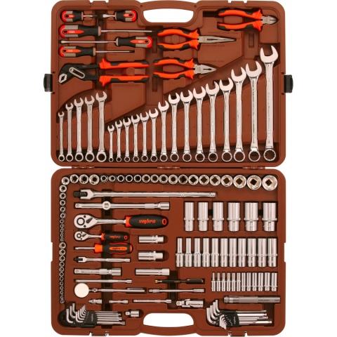 "products/OMT141S Ombra Набор инструмента универсальный 1/4"", 3/8"" и 1/2""DR, 141 предмет"