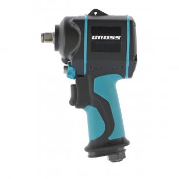 products/Гайковёрт пневматический ударный G985, 1/ дюйма,Twin Hammer, 610 Нм, 9000 об/мин, композитный GROSS