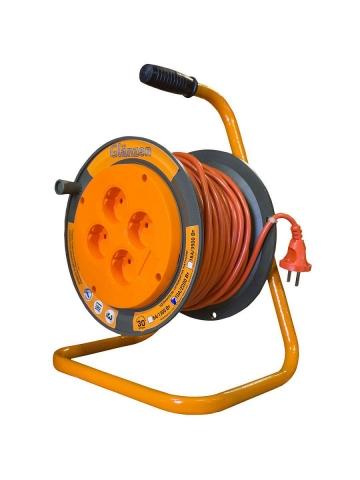 products/Удлинитель силовой на катушке 4 гн. ПВС 2х0,75 арт. ЕВ-20-002