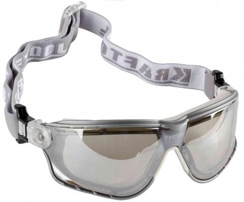 products/KRAFTOOL SG-5F Прозрачные, очки защитные открытого типа,11009 эластичная наголовная лента, непрямая вентиляция.