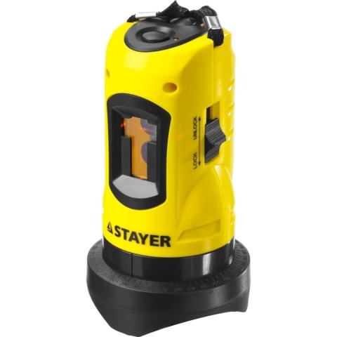 products/Нивелир лазерный Stayer SLL-1, 10м, точность +/-0,5 мм/м, арт. 34960-1