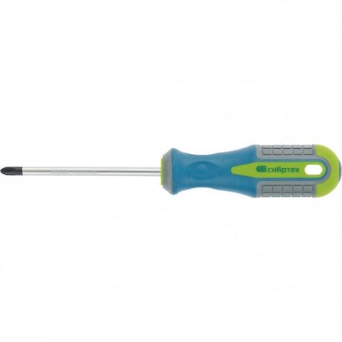products/Отвертка, PH0 х 100 мм, CrV, 3-х компонентная рукоятка// Сибртех, 11811