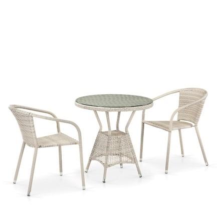 "products/""Комплект мебели (иск. ротанг)  2+1"" T282ANT/Y137C-W56 Light Brown 2Pcs"