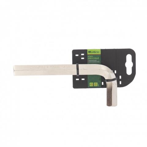 products/Ключ имбусовый HEX, 19 мм, 45x, закаленный, никель// Сибртех, 12350