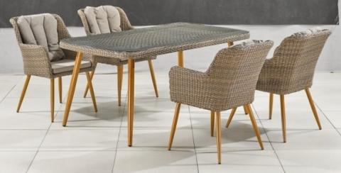 products/Комплект мебели T363B/Y363B-W65 4PCS Light Brown