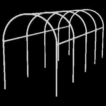 products/Каркас парника пластиковый 3х1,1х1,2м, дуга d20мм, белый PALISAD