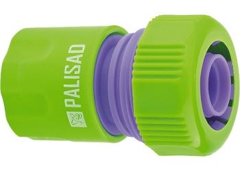 products/Соединитель пластмассовый быстросъемный для шланга 3/4 дюйма PALISAD