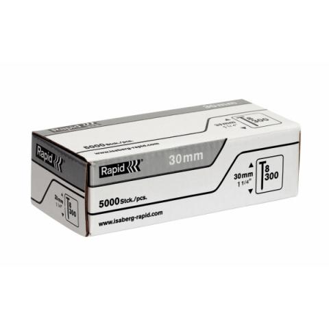 products/Гвозди супертвердые закаленные тип 300 (5000 шт; 30 мм) RAPID 40014273