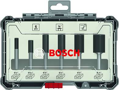 "products/Набор пазовых фрез Bosch 1/4"" 6шт. (арт. 2607017467)"