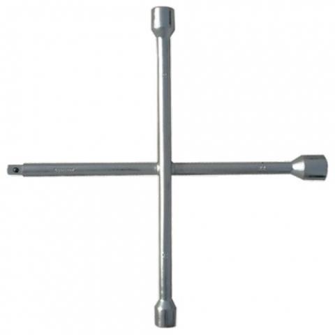 products/Ключ-крест баллонный, 17 х 19 х 21 х 22 мм, толщина 14 мм// Сибртех, 14257