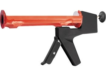 products/Пистолет для герметика, 310 мл, полуоткрытый, противовес, круглый шток 8 мм MATRIX