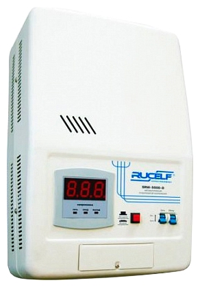 products/Стабилизатор напряжения релейный RUCELF SRW- 5000-D