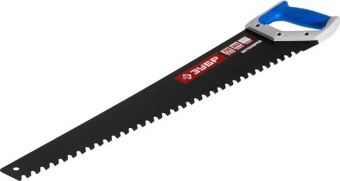 products/Ножовка по пенобетону (пила) БЕТОНОРЕЗ 700 мм, шаг 20 мм, 34 твердосплавных резца, твердосплавные напайки, тефлоновое покрытие, ЗУБР