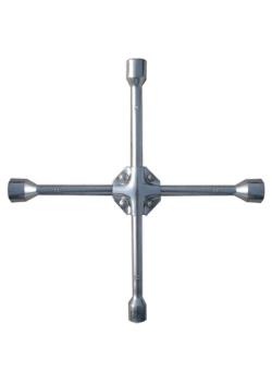 products/Ключ-крест баллонный, 17 х 19 х 21 мм, квадрат 1/ дюйма, усиленный, толщ. 16 мм MATRIX PROFESSIONAL 14245