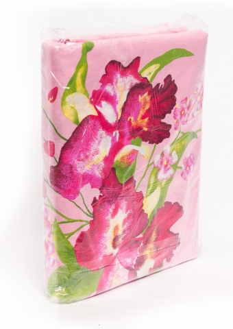 products/КПБ 1,5сп бязь 100 гр. (1 нав. 60х60), цветная, Факел арт. 16699000
