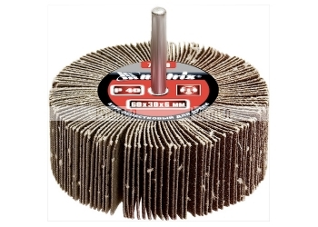 Круг лепестковый для дрели, P 60, 80 х 40 х 6 мм MATRIX