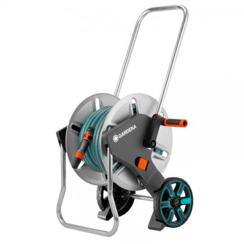 products/Тележка для шлангов металлическая Gardena AquaRoll M с комплектом для полива 18542-20.000.00