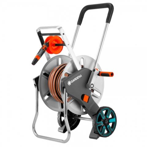 products/Тележка для шлангов металлическая Gardena AquaRoll M Easy с комплектом для полива 18547-20.000.00