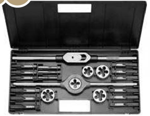 products/Набор резьбонарезной в пластиковой коробке M 2-II Метрические, Инструментальная стальBucovice  310200