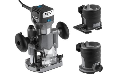 products/Фрезер TESLA TRE710 кромочный (621403) 710 Вт 10000-30000 об/мин, 6-10 мм