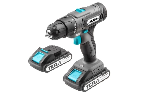 products/Дрель аккумуляторная TESLA TCD142DC, 621376