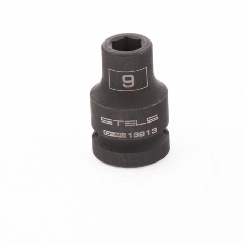 """products/Головка ударная шестигранная, 9 мм, 1/2"""", CrMo// Stels,13913"""
