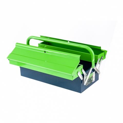 products/Ящик для инструмента, 430х200х160 мм, три секции, металлический, Сибртех, 90750