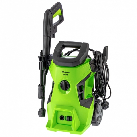 products/Моечная машина высокого давления АМ-1700, 1700 Вт, 130 бар, 350 л/ч, колёсная, Сибртех, 58222