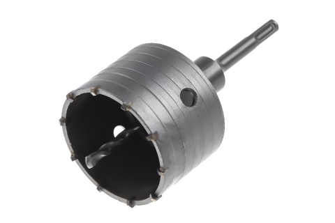 products/Коронка твердосплавная Hammer Dc hd 82mm ТВС + переходник sds plus, 30712