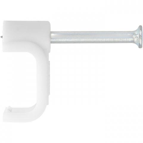products/Скобы электроустановочные, 14 мм, прямоугольный профиль, 30 шт., Сибртех, 47544