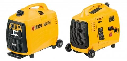 products/Генератор инверторный GT-3200iSE, 3,2 кВт, 230 В, бак 6 л, закрытый корпус, электростартер, Denzel, 94703