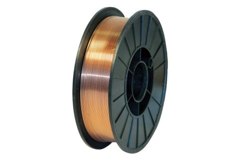 products/45588 Проволока сварочная WESTER SW 10500 Ф1 мм 5 кг, омедненная, катушка Ф200 мм
