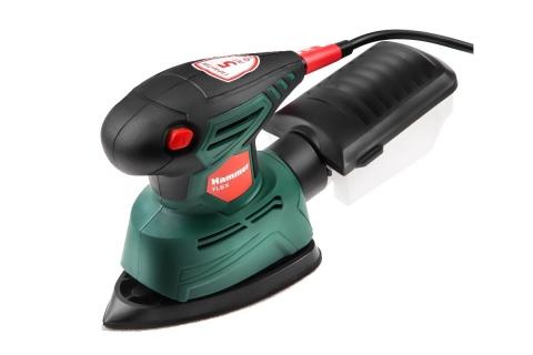 products/576782 Шлифовальная машинка дельта Hammer Flex DSM135 135 Вт, 14000 об/мин, 140*140*80 мм