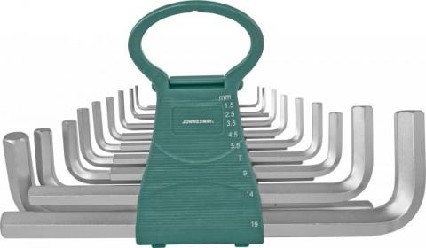 products/H02MH118S Jonnesway Набор ключей торцевых шестигранных удлиненных, 18 предметов