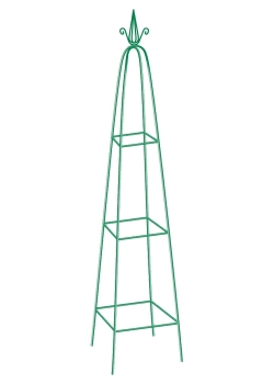 products/Пирамида садовая декоративная для вьющихся растений, 198 х 33 см, пирамида PALISAD