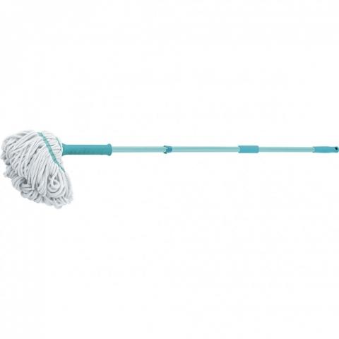 products/Швабра отжимная скручиванием 120 см, насадка из микрофибры, 120 гр Elfe 93509