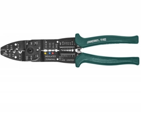 products/V1402 Jonnesway Обжиматель контактов профессиональный 8 в 1