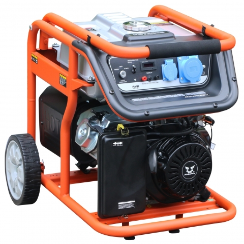 products/Генератор бензиновый Zongshen KB 7000 E, арт. 1T90DF703