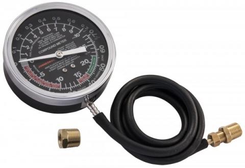products/AR020019 Jonnesway Универсальный прибор для измерения давления топливной магистрали. Вакуумметр