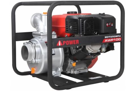 products/Бензиновая мотопомпа для чистой воды A-iPower AWP100, арт. 30141